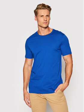 United Colors Of Benetton United Colors Of Benetton T-Shirt 3U53J1F15 Blau Regular Fit