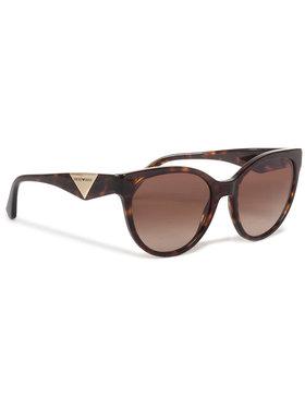Emporio Armani Emporio Armani Okulary przeciwsłoneczne 0EA4140 508913 Brązowy
