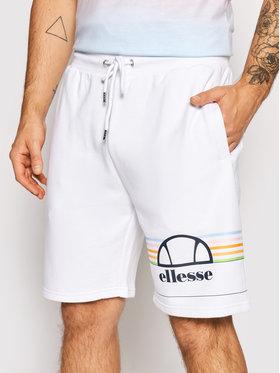 Ellesse Ellesse Pantaloncini sportivi Aiutarmi SHJ11919 Bianco Regular Fit