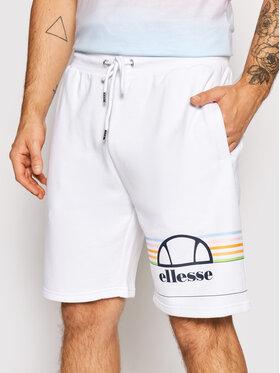 Ellesse Ellesse Sportske kratke hlače Aiutarmi SHJ11919 Bijela Regular Fit