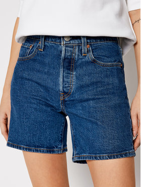 Levi's® Levi's® Jeansshorts 501™ Mid Thigh 85833-0007 Dunkelblau Regular Fit