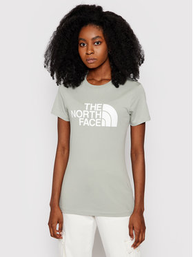 The North Face The North Face T-Shirt Easy NF0A4T1QH Grün Regular Fit