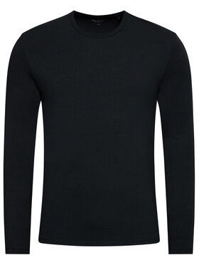 Pepe Jeans Pepe Jeans Тениска с дълъг ръкав Original Basic PM503803 Черен Slim Fit