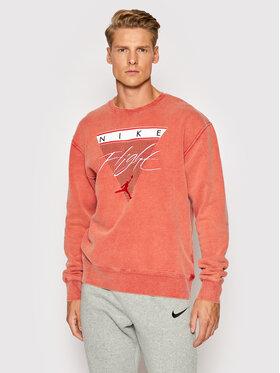 Nike Nike Mikina Jordan Flight CW8369 Oranžová Regular Fit
