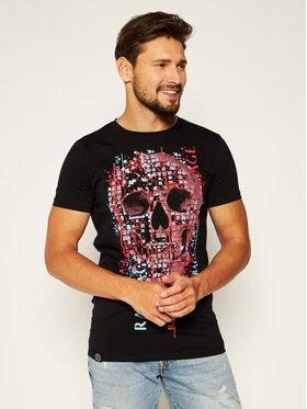 Rage Age Rage Age T-Shirt Bad Boy 1 Czarny Slim Fit