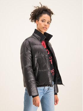 Ugg Ugg Vatovaná bunda Izzie Puffer Jacket Nylon 1105651 Černá Regular Fit
