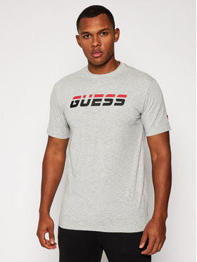 Guess Guess T-Shirt Regular Tee U0BA47 K6YW1 Grau Regular Fit