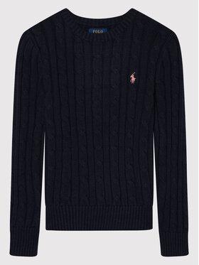 Polo Ralph Lauren Polo Ralph Lauren Пуловер Cable 313737921003 Тъмносин Regular Fit