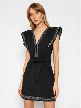 TwinSet TwinSet Každodenné šaty 211TT2481 Čierna Slim Fit