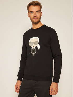 KARL LAGERFELD KARL LAGERFELD Sweatshirt Crewneck 705041 502950 Noir Regular Fit