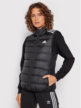 adidas adidas Vestă Essentials Down GH4586 Negru Slim Fit