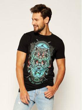 Rage Age Rage Age T-Shirt Chors Czarny Slim Fit