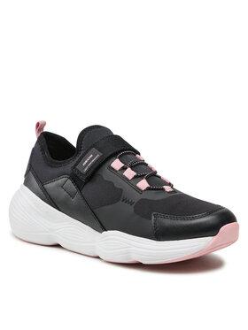 Geox Geox Sneakersy J Bubblex G. B J16CNB 01554 C9999 S Czarny