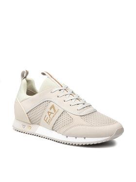EA7 Emporio Armani EA7 Emporio Armani Sneakersy X8X027 XK050 Q228 Beżowy