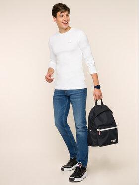 Tommy Jeans Tommy Jeans Marškinėliai ilgomis rankovėmis DM0DM04409 Balta Slim Fit