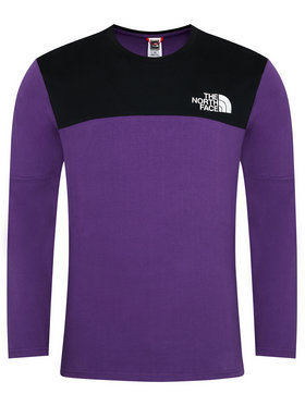 The North Face The North Face Longsleeve Himalayan NF0A3XYBV0G1 Μωβ Regular Fit