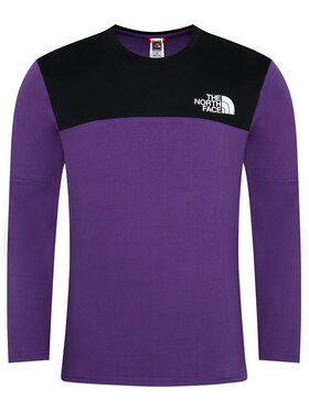 The North Face The North Face Manches longues Himalayan NF0A3XYBV0G1 Violet Regular Fit