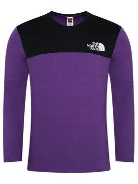 The North Face The North Face Marškinėliai ilgomis rankovėmis Himalayan NF0A3XYBV0G1 Violetinė Regular Fit