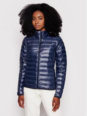 adidas adidas Pūkinė striukė Varilite CY8741 Tamsiai mėlyna Slim Fit
