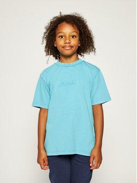 Guess Guess T-shirt H01J00 K82E0 Plava Regular Fit