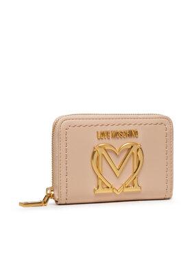 LOVE MOSCHINO LOVE MOSCHINO Великий жіночий гаманець JC5636PP0CKK0107 Бежевий