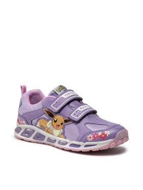 Geox Geox Sneakers J Shuttle G. D J8206D 014BU C0139 DD Violett