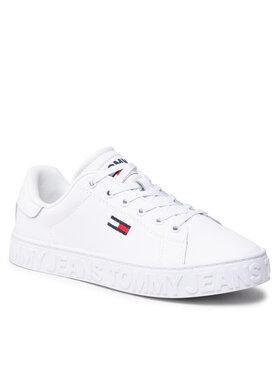 Tommy Jeans Tommy Jeans Sneakersy Cool Tommy Jeans Sneaker EN0EN01616 Biały
