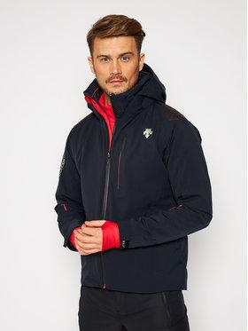 Descente Descente Lyžařská bunda Breck DWMQGK09 Černá Tailored Fit