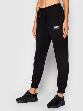 Guess Guess Спортивні штани O1BA01 K9V31 Чорний Regular Fit