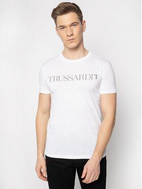 Trussardi Jeans Trussardi Jeans Тишърт 52T00305 Бял Regular Fit