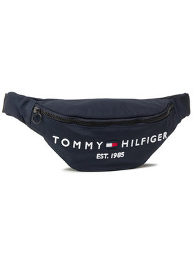 Tommy Hilfiger Tommy Hilfiger Ledvinka Th Established Crossbody Bag AM0AM07206 Tmavomodrá