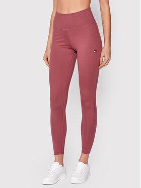 Tommy Hilfiger Tommy Hilfiger Leggings Graphic S10S101023 Rózsaszín Slim Fit