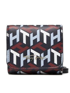 Tommy Hilfiger Tommy Hilfiger Torebka Iconic Tommy Mini Wallet Mono AW0AW10846 Granatowy
