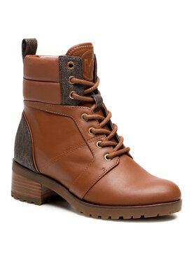 MICHAEL Michael Kors MICHAEL Michael Kors Scarponcini Bronte Ankle Boot 40R1BRMB9L Marrone