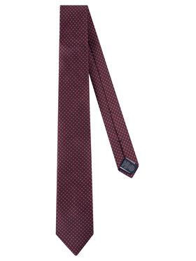 Tommy Hilfiger Tailored Tommy Hilfiger Tailored Krawatte Silk Blend Micro Design TT0TT06669 Dunkelrot