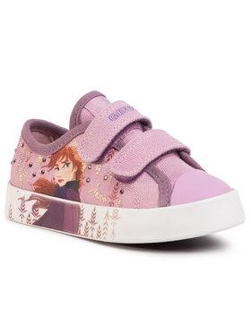 Geox Geox Sneakers aus Stoff J Ciak G. H J0204H 00010 C8005 M Rosa