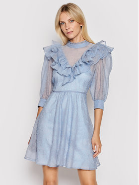 Custommade Custommade Sukienka letnia Luisa 212344408 Niebieski Regular Fit
