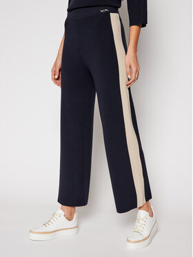Weekend Max Mara Weekend Max Mara Pantaloni culotte Tecnico 53310117 Bleumarin Regular Fit