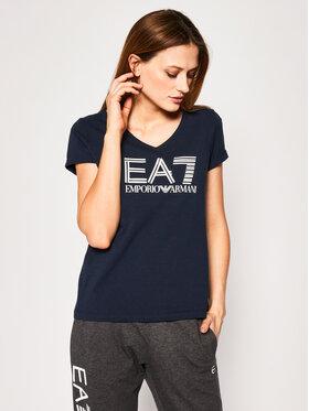 EA7 Emporio Armani EA7 Emporio Armani T-Shirt 3HTT39 TJ12Z 1554 Tmavomodrá Regular Fit