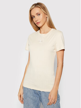 Calvin Klein Jeans Calvin Klein Jeans Футболка J20J217314 Бежевий Slim Fit