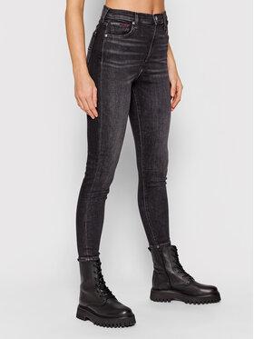 Tommy Jeans Tommy Jeans Jeansy Sylvia DW0DW10288 Czarny Skinny Fit