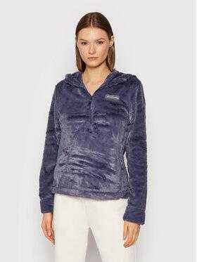 Columbia Columbia Anorak jakna Bundle Up™ Hooded Fleece 1958811 Tamnoplava Regular Fit