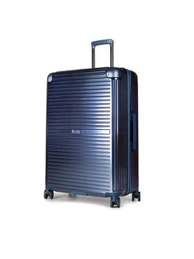 Puccini Puccini Nagy kemény borítású bőrönd Dallas PC027A 7 Kék