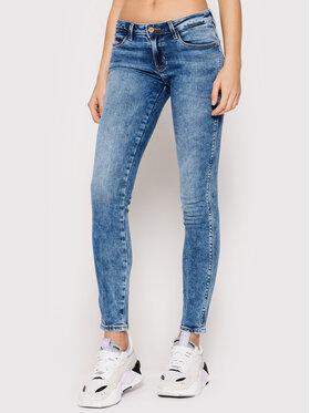 Guess Guess Jeansy Curve X W1YAJ2 D4G11 Niebieski Skinny Fit