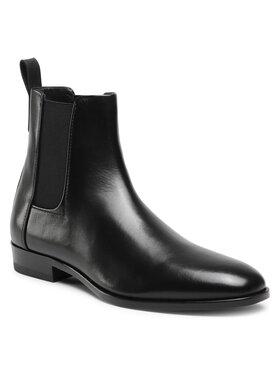 Hugo Hugo Členková obuv s elastickým prvkom Cult Cheb 50424910 10224555 01 Čierna