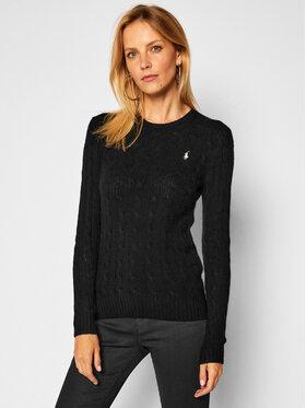 Polo Ralph Lauren Polo Ralph Lauren Sweter Julianna Wool/Cashmere 211525764002 Czarny Regular Fit