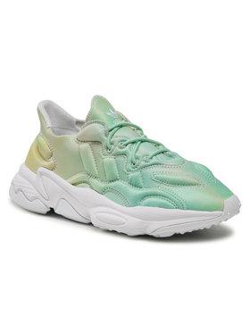 adidas adidas Обувки Ozweego Tech J FY2581 Зелен