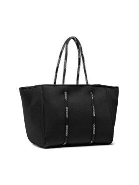Calvin Klein Calvin Klein Τσάντα Scuba Tote K9KWSU0111 Μαύρο