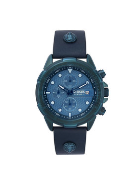 Versus Versace Versus Versace Laikrodis Arrondissement Chronograph VSPLP0319 Tamsiai mėlyna