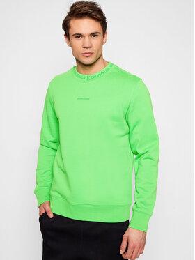 Calvin Klein Jeans Calvin Klein Jeans Felpa J30J317059 Verde Regular Fit